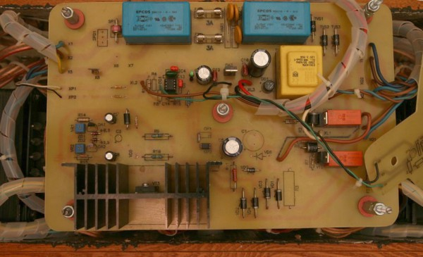 Argument_One_Class_A_Push_pull_Amplifier_Power_controller_board