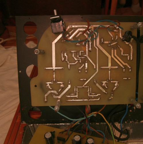 Argument_One_Class_A_Push_pull_Amplifier_Signal_board